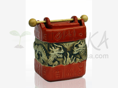 Aroma Lamp – Studna Dragons, terracotta