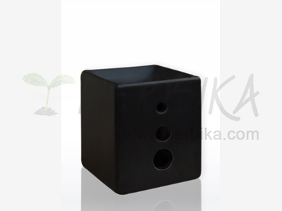 Aroma Lamp – Black Cube