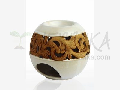 Aroma Lamp – Sphere, white