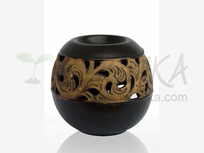 Aroma Lamp – Sphere, black
