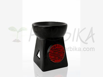 Aroma Lamp – Pyramid with red hieroglyph