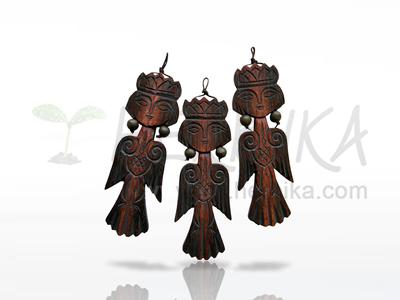 Sirin – a protective talisman, pendant  6cm