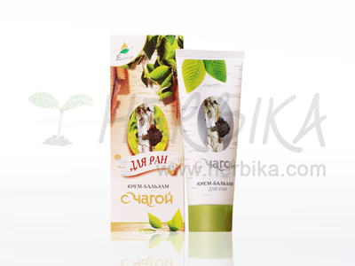 Chaga (Cinder conk) healing balsam