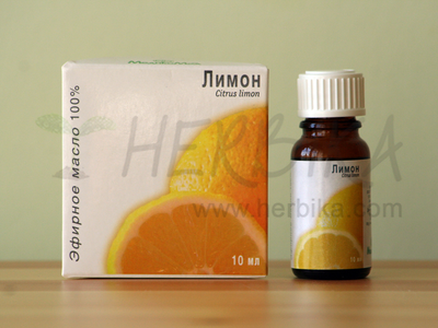 Lemon 100% Essential Oil (Citrus limon)