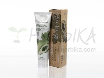 Ecodenta COSMOS – Organic whitening toothpaste with papaya extract  100ml