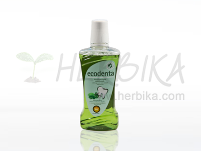 Ecodenta – Multifunctional moutwash with sage and aloe vera extracts, and mint oil  480ml