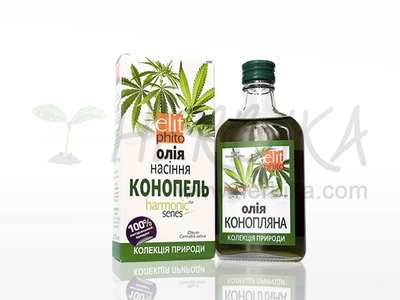 100% Hemp seed oil 200ml