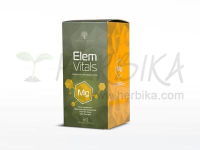ElemVitals – Magnesium with Siberian herbs  60 capsules