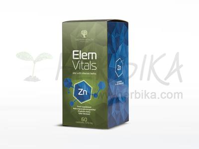 ElemVitals – Zinc with Siberian herbs  60 capsules