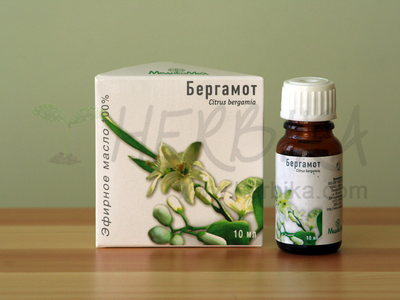 Bergamot 100% Essential Oil (Citrus bergamia)