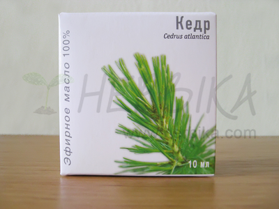 Cedar 100% Essential Oil (Cedrus atlantica)
