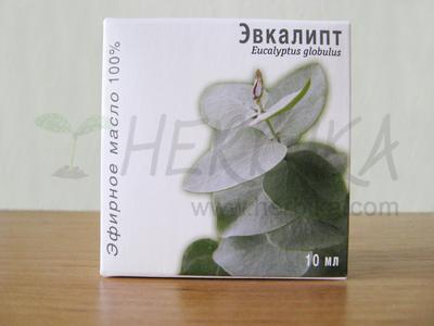 Eucalyptus 100% Essential Oil (Eucalyptus globulus)