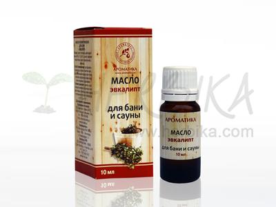 Aroma composition of essential oils into the sauna – eucalyptus  10ml