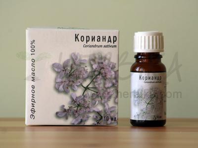 Coriander 100% Essential Oil (Coriandrum sativum)