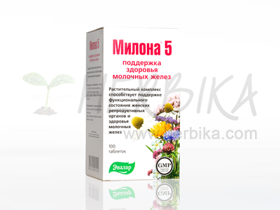 Milona 5 for women 100 tbl.