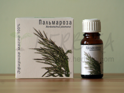 Palmarosa 100% Essential Oil (Cymbopogon martinii)