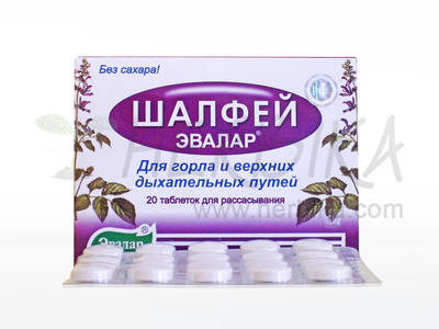 Sage – dietary supplement 20 tbl.