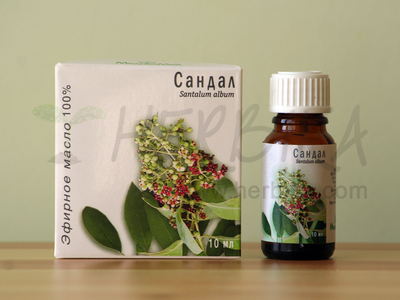 Sandalwood 100% Essential Oil (Santalum album)