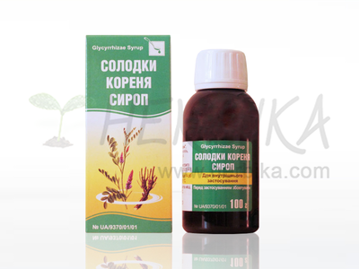 Liquorice root syrup 100ml