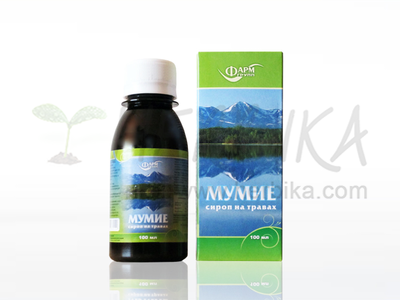 Mumijo syrup with herbs 100ml