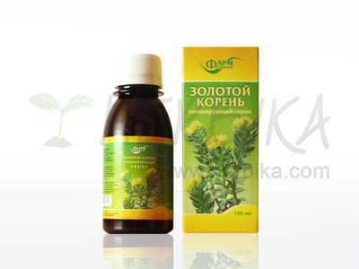 Golden Root (Rhodiola rosea) – Altay toning syrup 100 ml