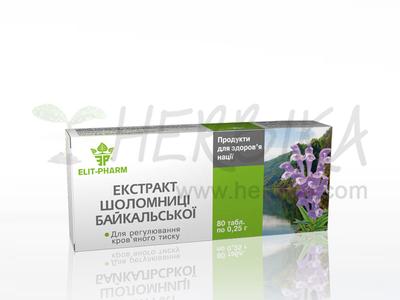 Baikal Skullcap (Scutellaria baicalensis) 80tbl.