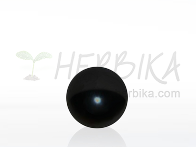 Shungite sphere 30-35mm polished, original Karelia