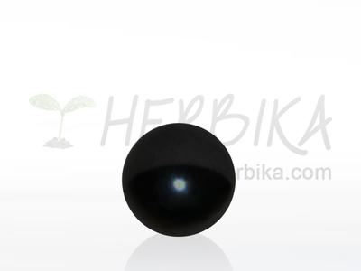 Shungite sphere 30-35mm polished, original Karelia