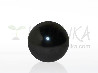 Shungite sphere 50mm polished, original Karelia