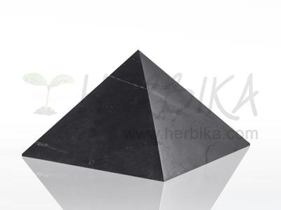 Shungite Pyramid 10x10 cm, original Karelia