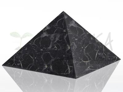 Shungite Pyramid 15x15 cm, original Karelia