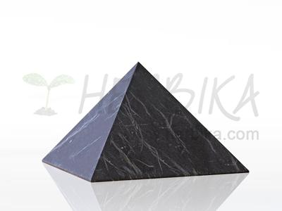 Shungite Pyramid 7x7 cm, original Karelia