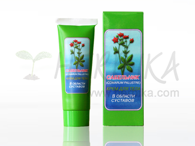 Sabelnik - body cream 75ml