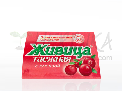 Chewing Resin with Cranberry