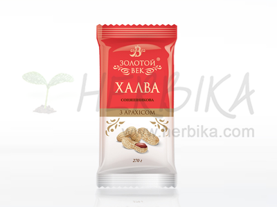 Halva of sunflower seeds – Peanut  270g