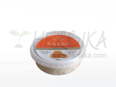 Halva of sunflower seeds – Apricot  360g
